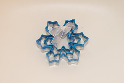 CLEARANCE SALE!!! Ornament Cookie Cutter Gift Set - 9pc + 1 free, Special Holiday Design - Christmas Tree, Gingerbread man, Snowflake + Mini Oblong Shape