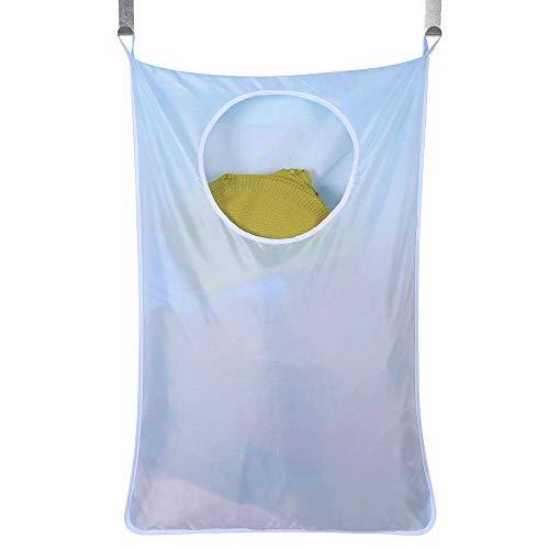 Bolsa de cesto de lavandería para Colgar en la Puerta, Organizador de Cesta de lavandería Oxford, Bolsa de Almacenamiento de Juguetes, Ahorro de Espacio portátil para Armario, Dormitorio, ba