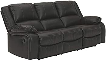 Signature Design By Ashley Calderwell Faux Leather Reclining Sofa