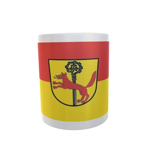 U24 Tasse Kaffeebecher Mug Cup Flagge Abtswind