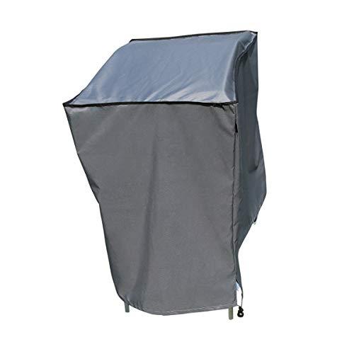 SORARA Housse de Protection Hydrofuge pour Barbecue | Gris | 150 x 61 x 122 cm