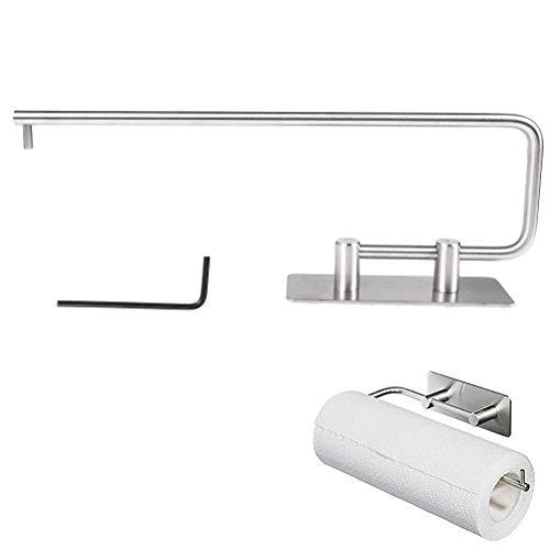 YOTINO Papierrollenhalter Küchenrollenhalter Wandrollenhalter aus Edelstahl Rollenhalter Küchenrolle Halter für Wand, Schrank