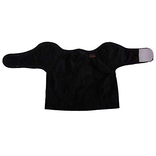 Fleece Winter face mask Neck Gaiter Half Balaclava Mask for Outdoor Sports (Black)