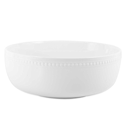 Everyday White by Fitz and Floyd Beaded Serving Bowl (PACK OF 1)