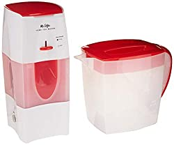 Mr. Coffee TM75RS-RB-1 3-Quart Tea and Iced Coffee Maker, Red