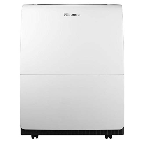 Hisense 100 Pint Dehumidifer DH100KP1WG with Built in Pump and Hose and removes Moisture for Large Space up to 1,500-sq ft.