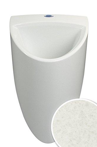 wasserloses Urinal CULU one Pissoir mit Membran Geruchsverschluss (grau-beige)