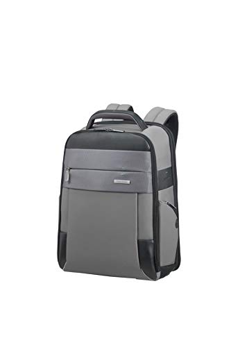 SAMSONITE LAPTOP BACKPACK 14.1' (GREY/BLACK) -SPECTROLITE 2.0  Zaino Casual, 0 cm, Grigio