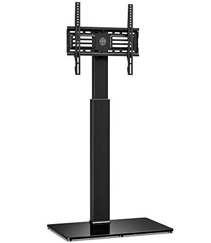 FITUEYES Supporto TV, Mobile TV, Girevole, Regolabile in Altezza, da 32 a 55 pollici LCD LED, Porta TV, Portata Max 40kg, TT106001MB