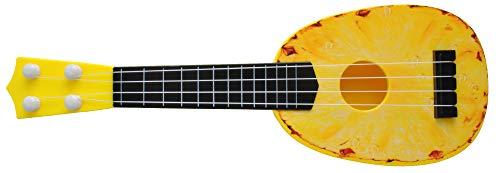 ISO TRADE Kinder Gitarre Ananas Ukulele Spielzeug Obst Design Ab 3 Jahren Musikalisch 6153