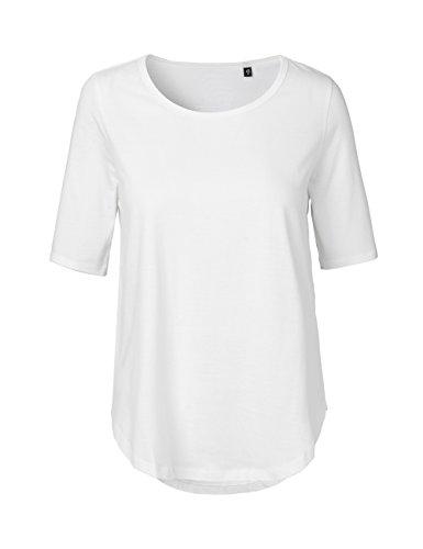 Green Cat - Camiseta - para Mujer Blanco XS