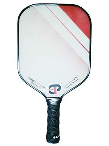 Engage Encore Pro Pickleball Paddle | USAPA Approved | Textured FiberTEK Fiberglass Face & ControlPRO Polymer Core | Standard Weight 7.8-8.3 oz | Red
