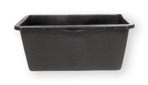 Bergin Mörtelkasten, schwarz, 90 Liter, mit Griffmulden