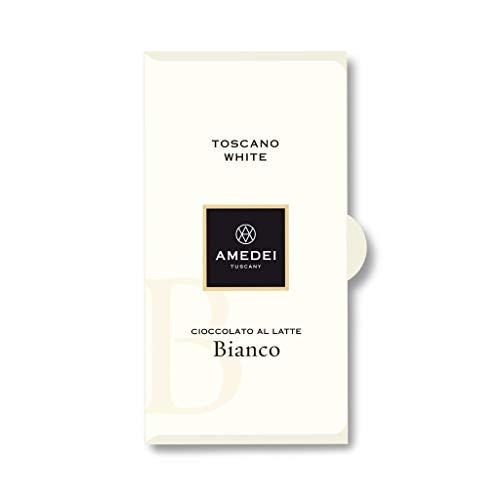 Amedei Toscano White, Tafel, weiße Schokolade - 50 g