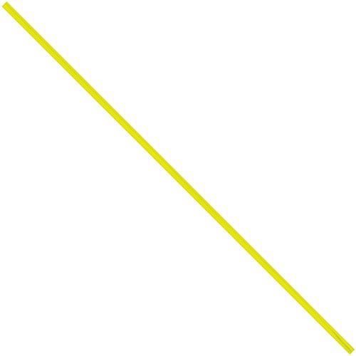 """Aviditi plt12y plástico lazos de torcedura de, 12""""X 5/32"""", amarillo (Pack de 2000)"""