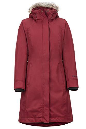 Marmot Women Wm's Chelsea Coat Leichte Daunenjacke, 700 Fill-Power, warmer Parka, Wintermantel, wasserabweisend, winddicht, Claret, L