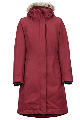 Marmot Wm's Chelsea Coat Lichtgewicht donsjack, 700 Fill-power, stijlvolle warme parka, waterafstotend, winddicht