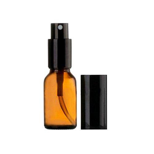 Bouteille de pulvérisation à base de vernis en verre 15ml Conteneur de parfum cosmétique (5 PCS)