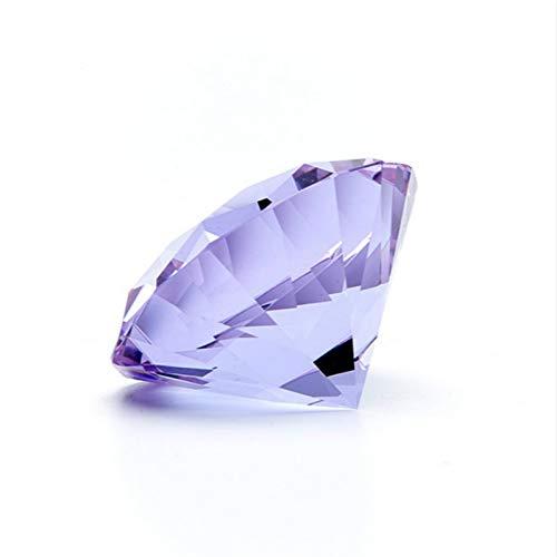 ERTERT Glass Diamond Party Decoration Crystal Large Diamond Romantic Proposal Home Decoration Ornaments Party Gifts (Color : 50mm 10pcs)