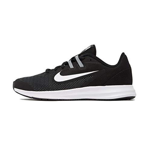 Nike Downshifter 9 (GS), Scarpe da Corsa, Nero (Black/Black/Anthracite 000), 39 EU