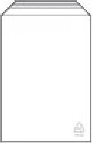 100 x Adhäsionsverschlussbeutel 120 x 230 mm - aus LDPE - Stärke 50 my - recyclebar - lebensmittelecht / mit abgeschrägter Klappe 50 mm mit Klebefilm / Adhäsionsbeutel / Klappenbeutel / Selbstklebebeutel / Kunststoffbeutel / Dokumentenbeutel