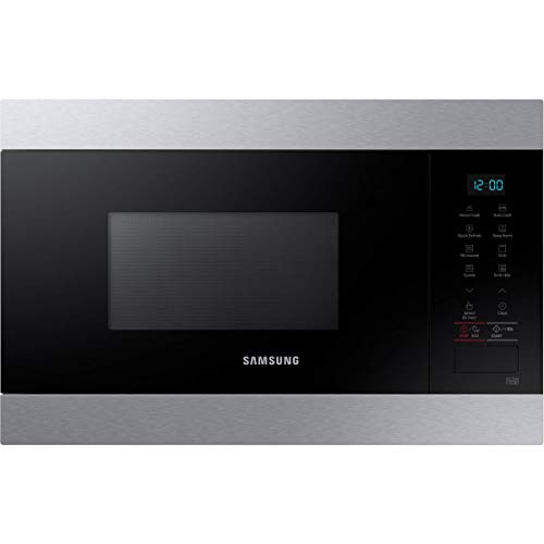 Micro ondes Grill Encastrable Samsung MG22M8074AT - Micro-Ondes Intégrable Inox - 22 litres - 850 Watts