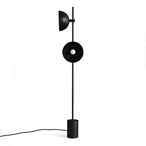 LY88 Licht Zwarte Hoorn Vloerlampen Staand voor Woonkamer Restaurant Industriële Model Kamer Minimalistische Studie Vloerlampen