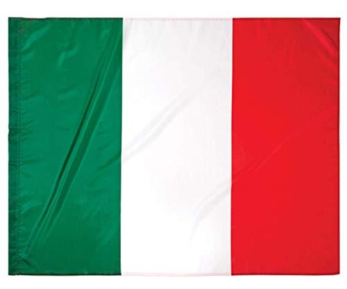 Bandiera Italia Italiana 90X150 Centimetri Con Passante Per L'Asta.