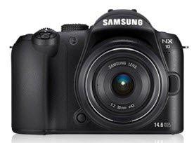 Samsung NX NX10 Brückenkamera 14,6 MP CMOS 4592 x 3056 Pixel Schwarz - Digitalkameras (14,6 MP, 4592 x 3056 Pixel, CMOS, HD, 353 g, Schwarz)