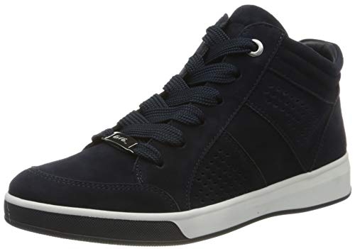 ara Damen ROM Hohe Sneaker, (Blau 02), 38 EU(5 UK)