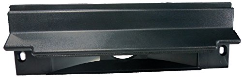 Central Vacuum Sweep Inlet Valve. CanSweep Dustpan Inlet Valve (Black) for Under Counter and Baseboard Installation for Central Vacuum Systems