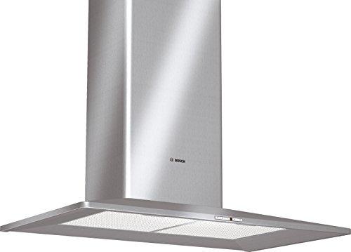 Bosch DWW096651 Wandmontage, 650 m³/h, Dunstabzugshaube – Dunstabzugshaube (650 m³/h, Leitung/Umleitung, 71 dB, zur Wandmontage, silberfarben, 20 W)