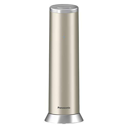 Panasonic KX-TGK220GN Design-Telefon mit Anrufbeantworter (Wecker, Haustelefon (schnurlos), HD-Telefonie, Eco-Plus, Freisprechfunktion) champagner