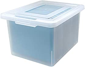 File Storage Box in Clear
