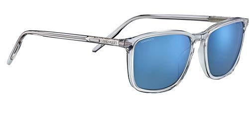 Serengeti Gafas de Sol LENWOOD Shiny Crystal/Mineral Polarized Nm Blue 57/18/155 unisex