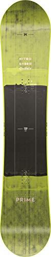 Nitro Snowboards Herren Prime Toxic BRD'19 Board, Mehrfarbig, 165