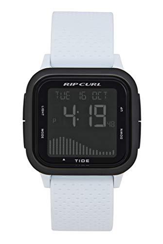 Rip Curl Men's Quartz Sport Watch with Silicone Strap, White, 22 (Model: A1139GWHI1SZ)
