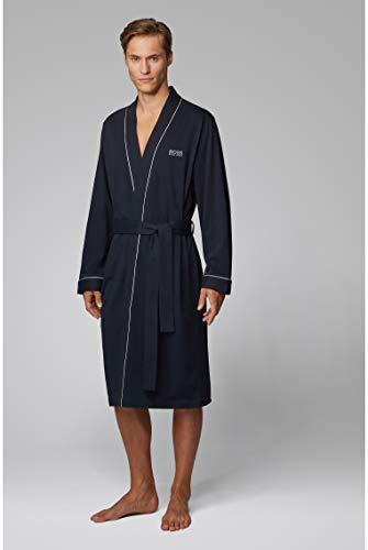 BOSS Kimono BM Albornoz, Azul (Dark Blue 403), XXL para Hombre