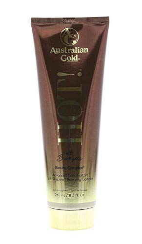 Australian Gold Hot! with Advanced Dark DHA Bronzers, 8.5 Ounce