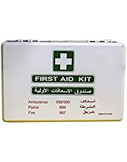 First Aid KIt ABS Heavy Duty Plastic With Wall Mounted Bracket Model- HFA004, Can Be Use for 15 To 20 People work space, For Car,Small Office,warehouse.First Aid Box
