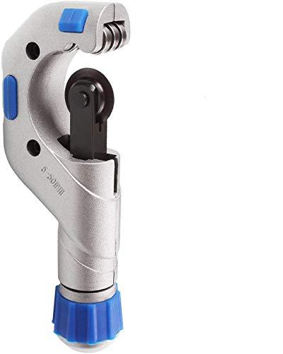 STARVAST Coupe Tube 1/4-2', Coupe Tube à Roulement à Billes, Robuste en Acier Inoxydable en Cuivre PVC Cutter, Coupeur de Tuyau en Métal pour Outil de Coupe de Tube (5mm-50mm)
