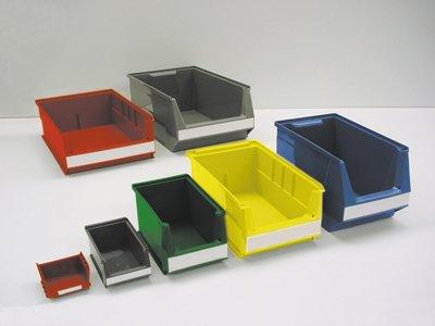 Lockweiler Sichtlagerkasten-Systembox Gr. 2, Farbe blau, BxTxH 310x500/450x200 mm, VE 10 Stück