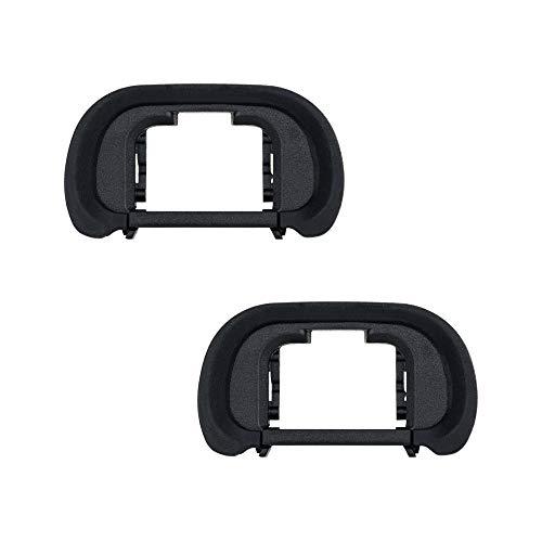 Camera Eyecup JJC Eye Cup Eyepiece Viewfinder for Sony a7 a7 II a7 III a7R a7R II a7R III a7R IV a7S a7S II a9 a58 a99 II Replace Sony FDA-EP18 Eyecup -2 Pack