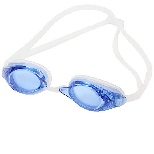 SWANS optische Schwimmbrille FO-2-OP blau - getönte Schwimmbrille für Kurzsichtige, Sehstärke:-2.5