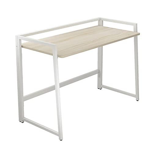 LLRZ Mesa de escritorio plegable portátil multiusos portátil plegable escritorio escritorio escritorio escritorio oficina escritorio para mesa de camping pequeño espacio (color blanco)