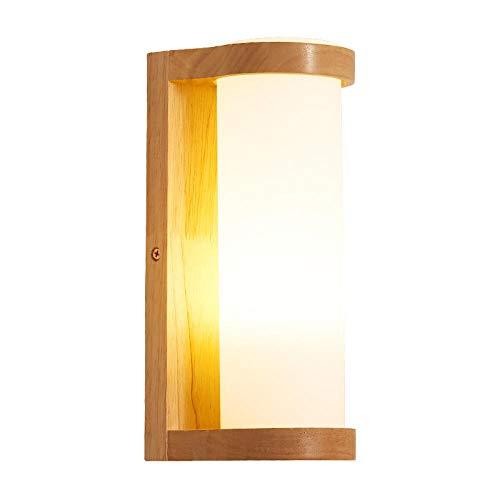 Vintage binnenwandlamp, wandlamp, wandlamp, ladder, hout, woonkamer, LED-verlichting
