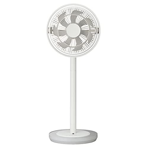 カモメファン リビング扇風機 28cm 首振り リモコン付き ホワイト