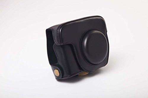 vhbw Bolsa, Funda para cámara Compatible con Canon Powershot G15, G16 cámaras; Negro +...