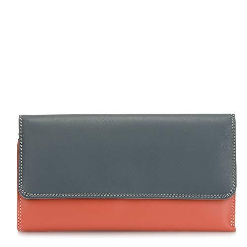 Portafoglio donna in pelle - MYWALIT -Tri-fold Zip Wallet - 269-122 Urban Sky