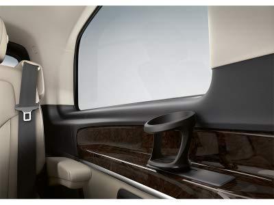 Mercedes Benz Original W 447 Clase V / Vito / Metris 1 Cupholder para 3 Filas de Asientos en el Pasajero Negro